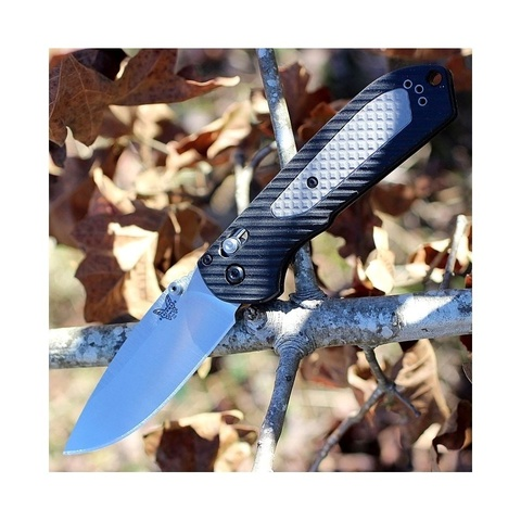 Нож складной Benchmade Mini Freek 565, сталь CPM-S30V, рукоять пластик/версафлекс. Вид 4
