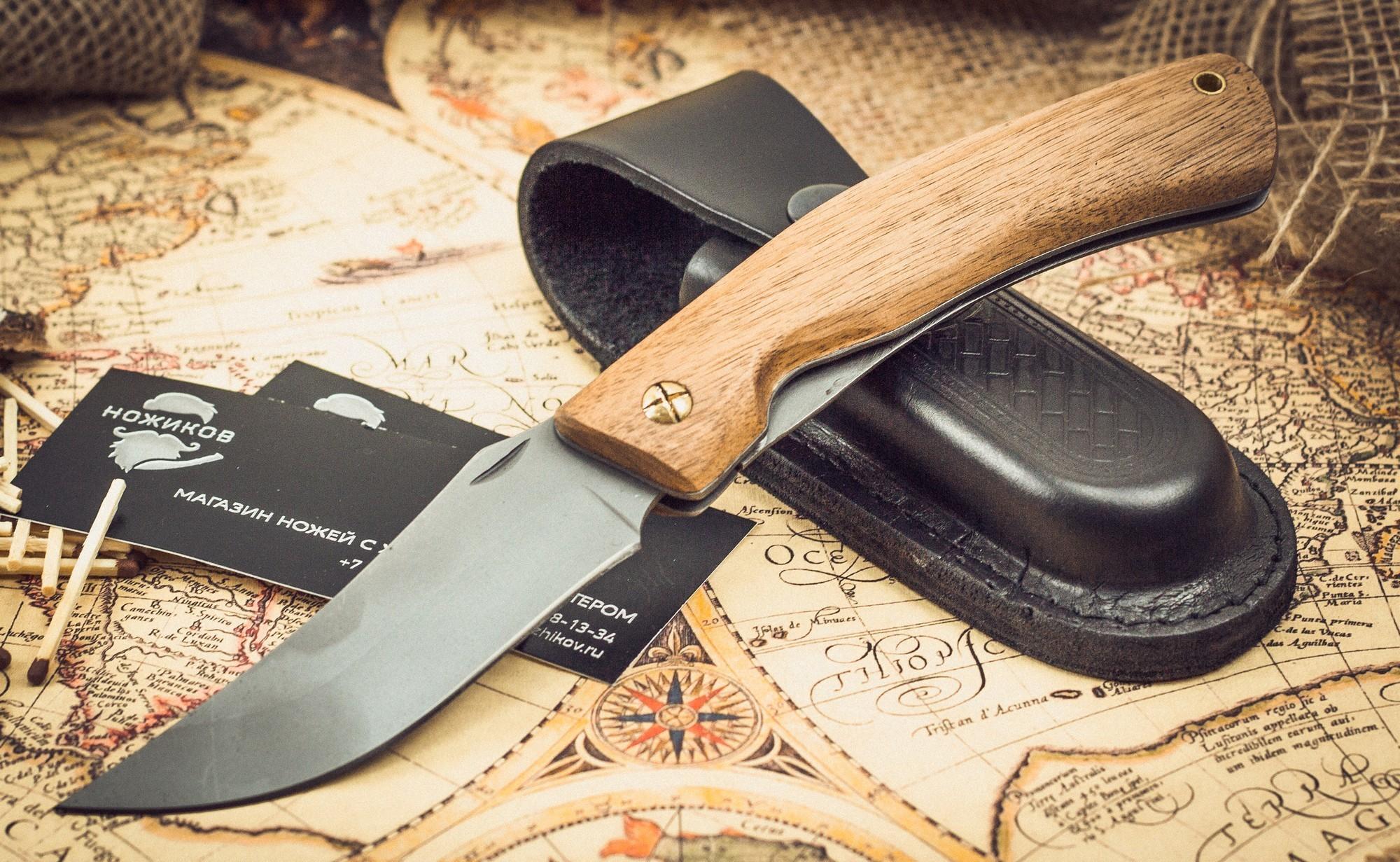 Фото 6 - Складные ножи Косач , сталь 95Х18 от Марычев