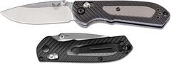 Нож складной Benchmade Mini Freek 565, сталь CPM-S30V, рукоять пластик/версафлекс, фото 5