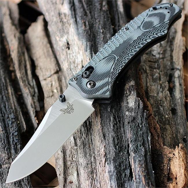 Фото 6 - Нож складной Benchmade 950 Rift, сталь 154CM, рукоять G-10