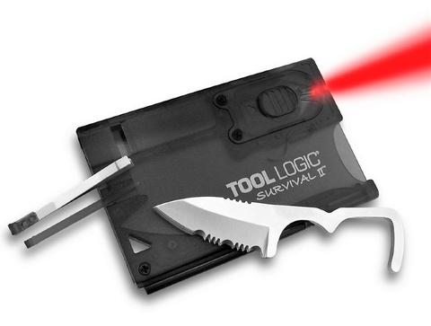 Швейцарская карта Tool Logic Survival Card-2 - SOG TLSVC2, сталь 420J2, материал пластик. Вид 1