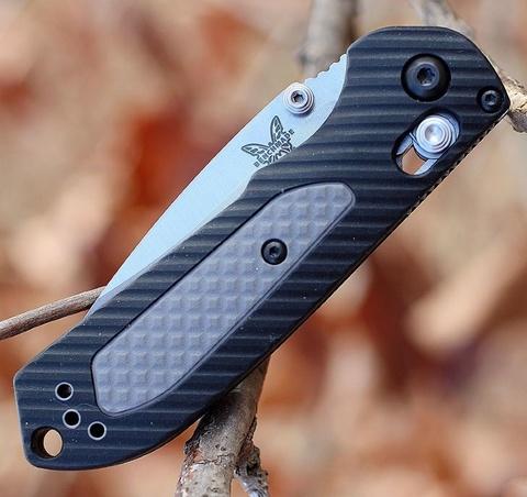 Нож складной Benchmade Mini Freek 565, сталь CPM-S30V, рукоять пластик/версафлекс. Вид 6