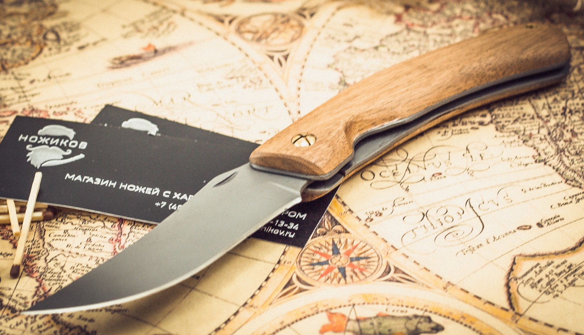 Фото 5 - Складные ножи Косач , сталь 95Х18 от Марычев
