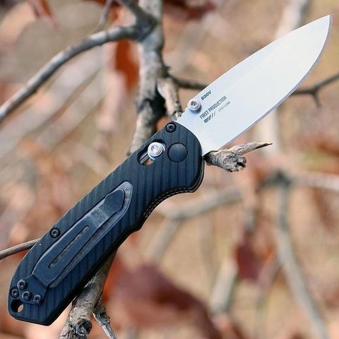 Нож складной Benchmade Mini Freek 565, сталь CPM-S30V, рукоять пластик/версафлекс. Вид 8