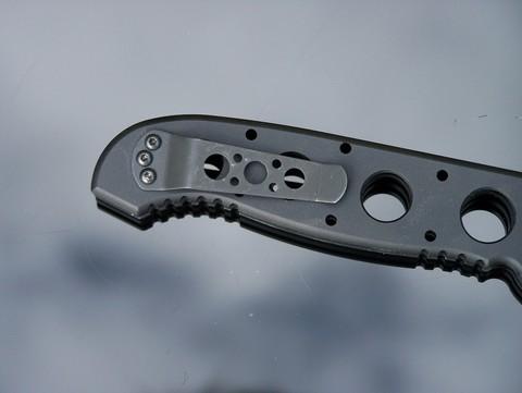 Складной нож CRKT M16®-04A Automatic, сталь CPM 154, рукоять алюминиевый сплав. Вид 4