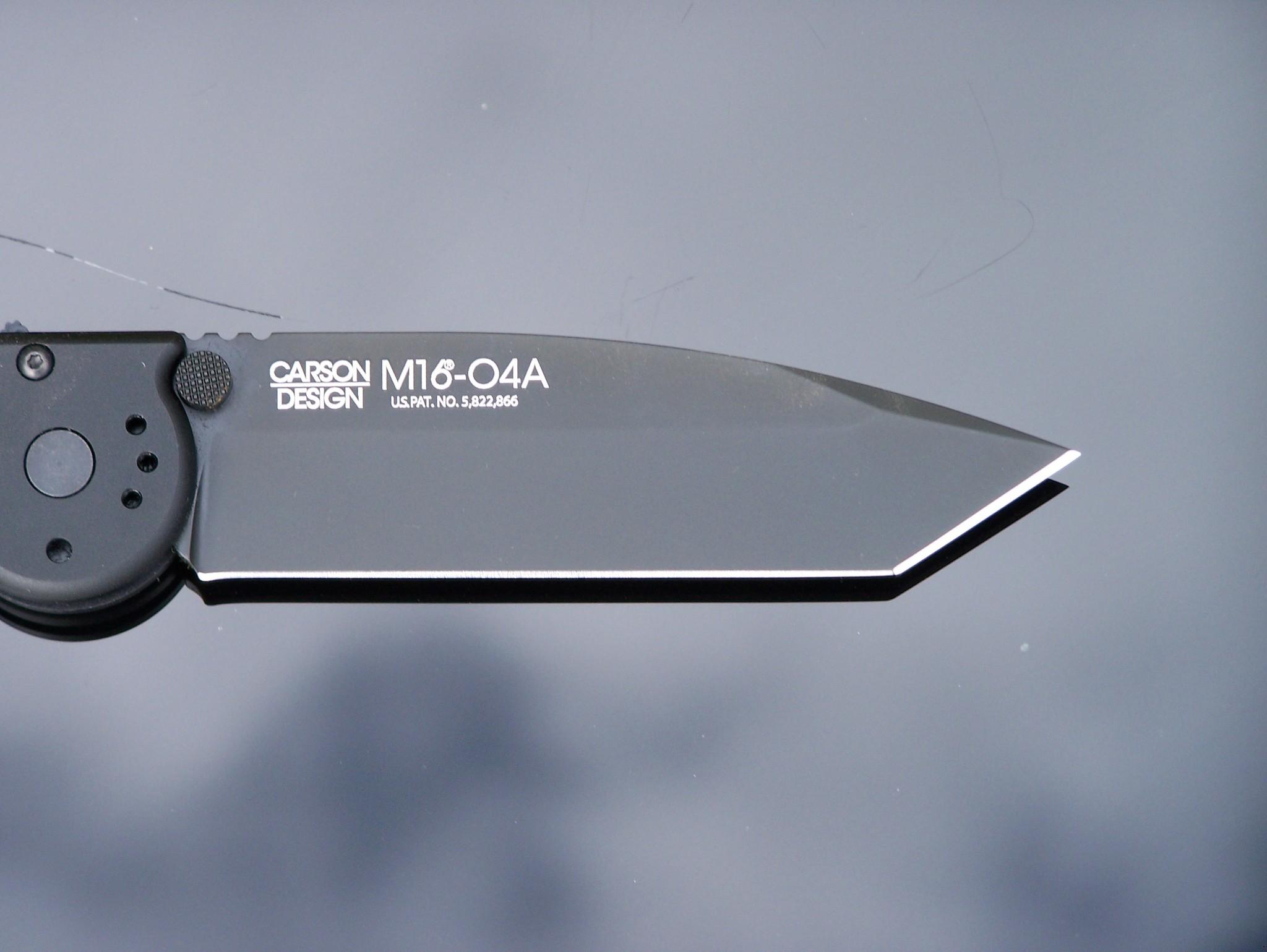 Фото 9 - Складной нож CRKT M16®-04A Automatic, сталь CPM 154, рукоять алюминиевый сплав