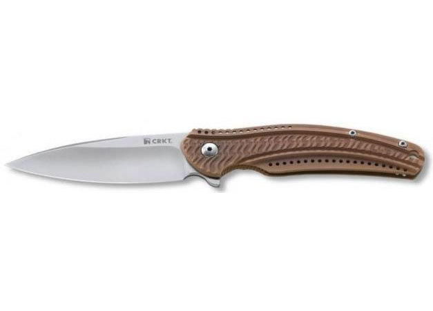 Фото 6 - Складной нож CRKT Ripple 2 Bronze, сталь Acuto 440, рукоять нержавеющая сталь