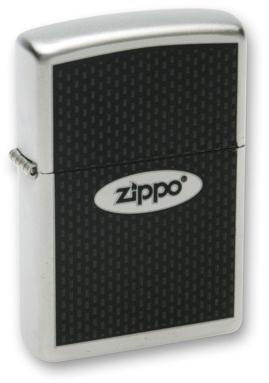 Зажигалка ZIPPO Zippo Oval Satin Chrome, латунь с ник.-хром. покрыт., серебр., матовая, 36х56х12 мм