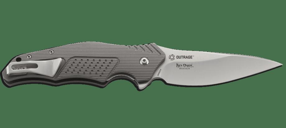 Фото 14 - Складной нож Outrage™ - CRKT K320GXP, сталь 8Cr13MOV, рукоять из авиационного алюминия
