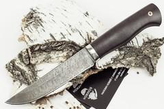 Нож Мангуст, дамасская сталь