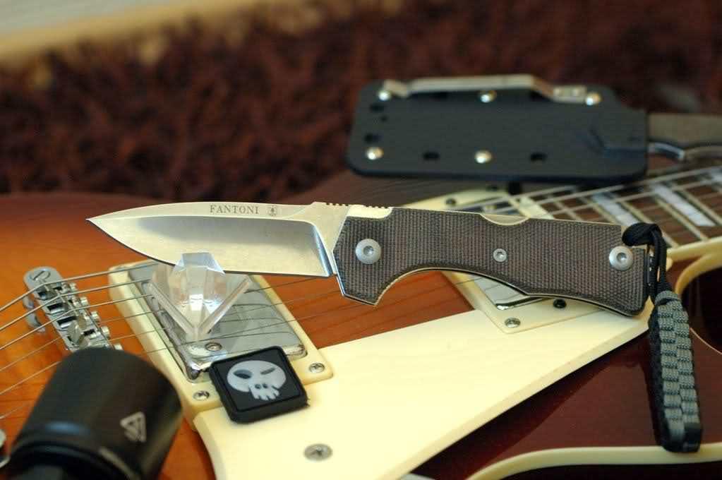 Нож складной Hide Folder, Green Micarta Scales, Crucible CPM® S30V™, Tommaso Rumici Design 7.5 см. от Fantoni