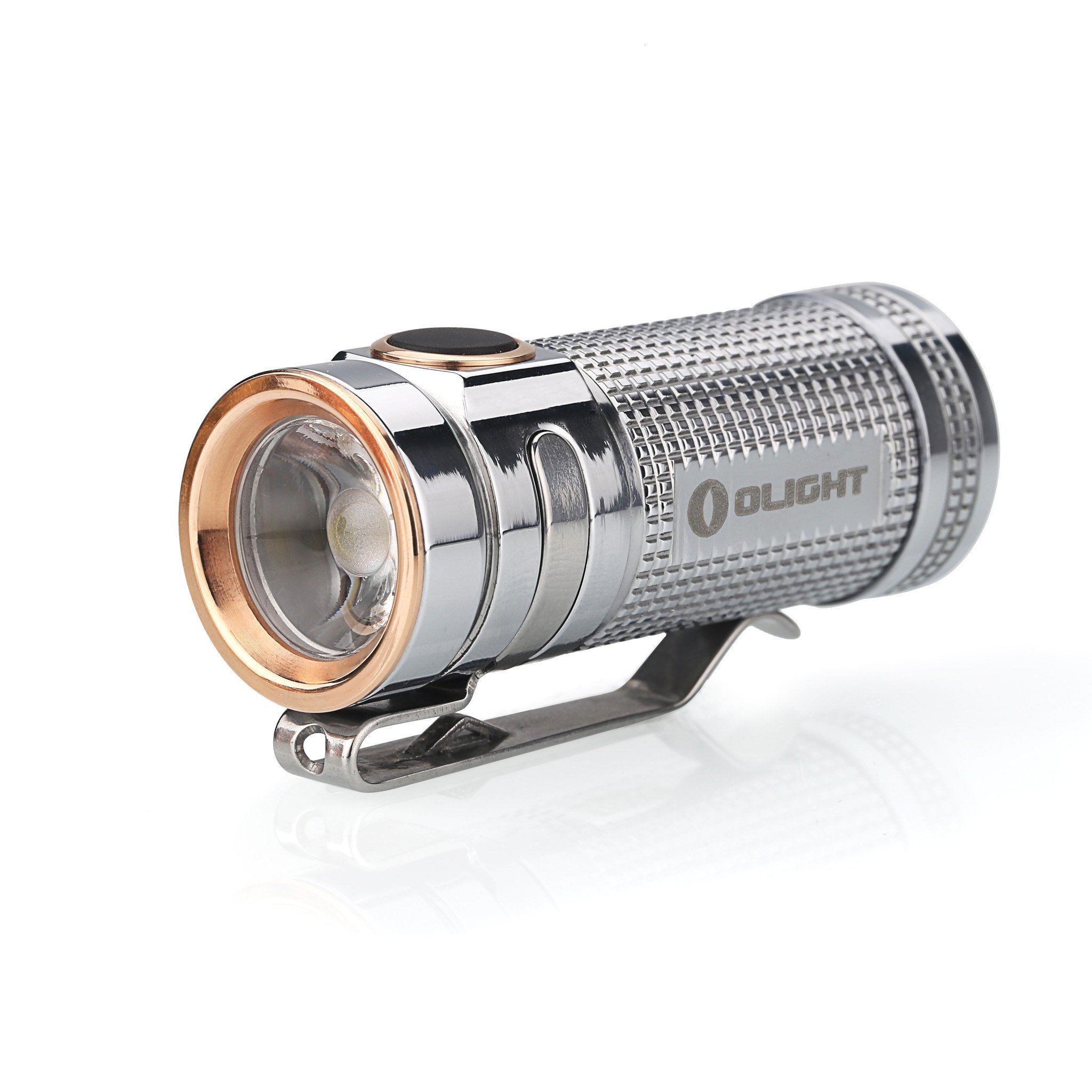 цена Фонарь Olight S Mini Ti Polished титан