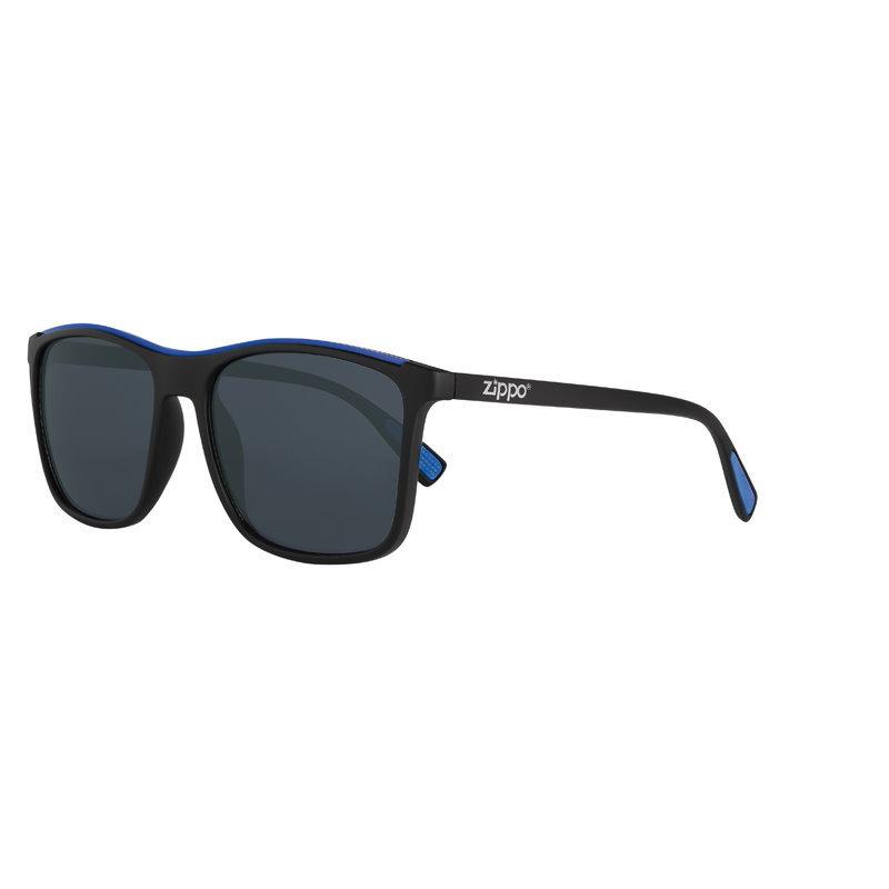 Фото - Очки солнцезащитные ZIPPO OB94-02, унисекс, чёрные, оправа из поликарбоната очки солнцезащитные zippo ob70 01 унисекс чёрные оправа из поликарбоната