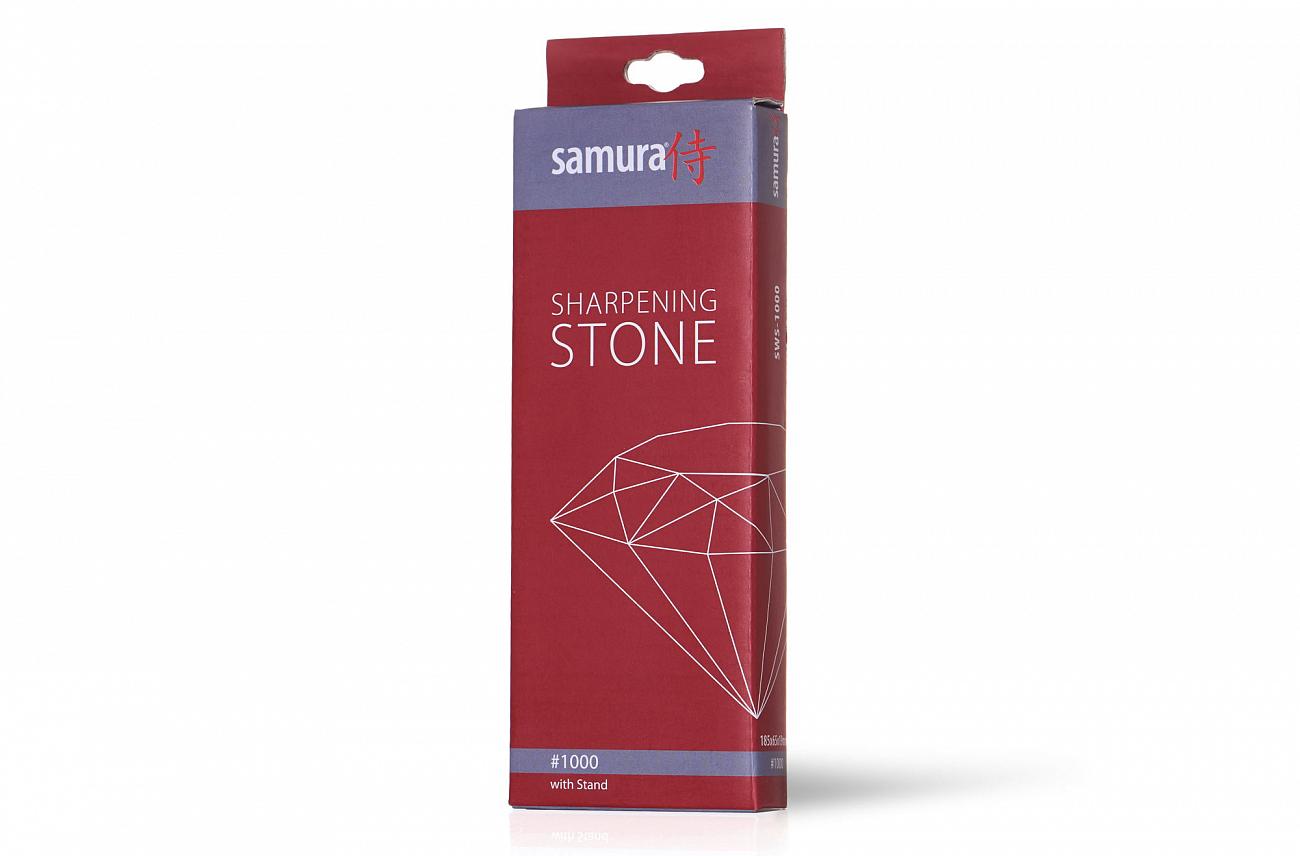 Фото 4 - Камень точильный Samura водный однослойный #1000, SWS-1000