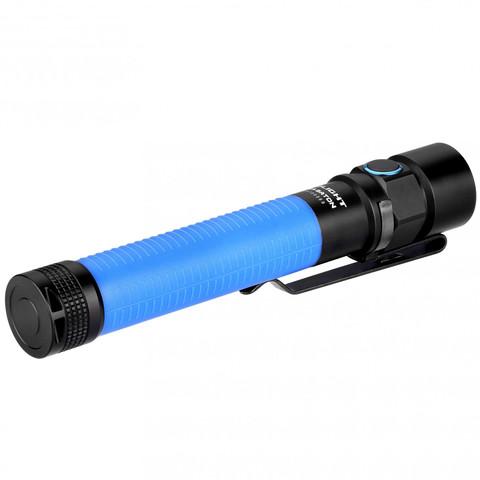 Фонарь Olight S2A Baton, синий. Вид 4