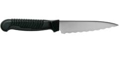 Нож кухонный универсальный Spyderco Utility Knife K05SPBK, сталь MBS-26 Serrated 11.4 см, рукоять полипропилен, чёрный, фото 9