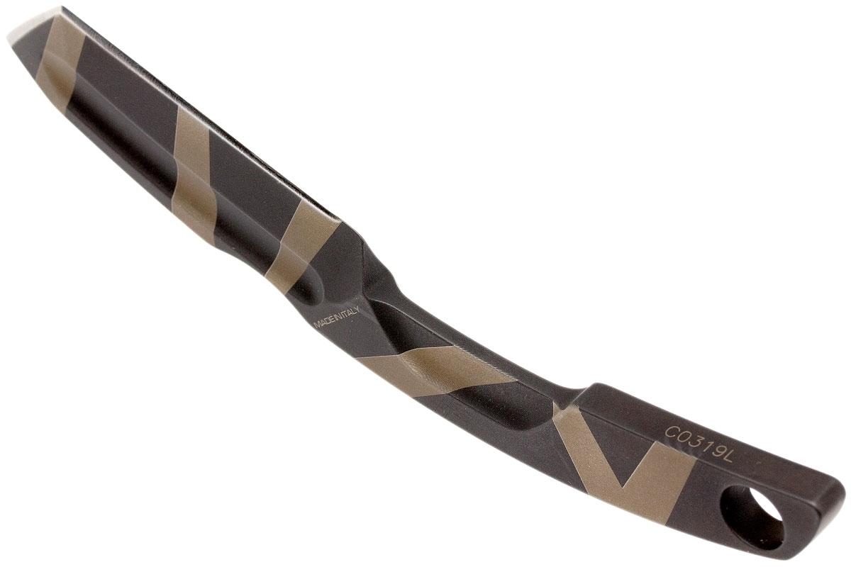 Фото 6 - Нож с фиксированным клинком Extrema Ratio N.K.3 Desert Warfare, сталь Bohler N-690, цельнометаллический
