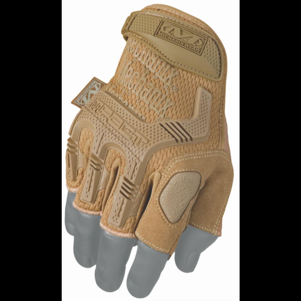 Перчатки MW M-Pact Fingerless, Coyote, без пальцев от Mechanix Wear