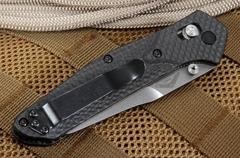 Нож складной Benchmade 940-1 Osborne, сталь CPM S90V, рукоять карбон, фото 13