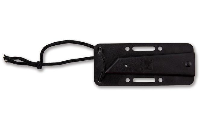 Фото 11 - Нож с фиксированным клинком CRKT Stiff K.I.S.S., сталь Aus 6, рукоять паракорд