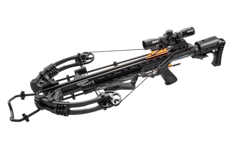 Фото - Арбалет блочный Man Kung MK-XB58 Kraken черный KIT арбалет блочный poelang accelerator 370 с комплектом аксессуаров цвет камуфляжный