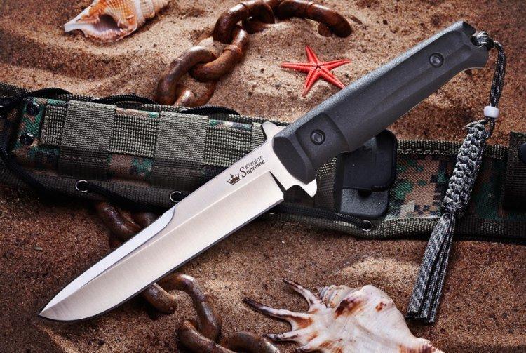 Тактический нож Trident D2 Satin, Kizlyar Supreme тактический нож aggressor aus 8 satin sw kizlyar supreme