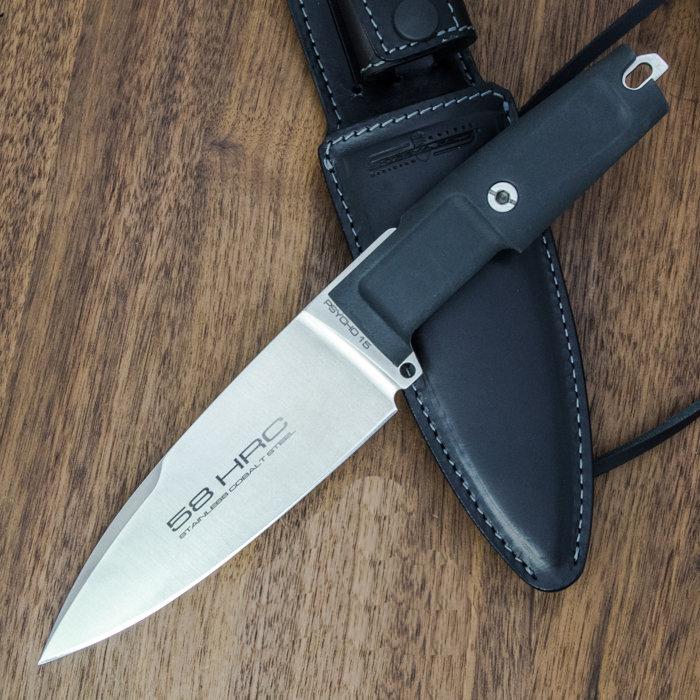 Фото 7 - Полевой поварской нож Extrema Ratio Psycho 15 Satin, сталь Bhler N690, рукоять Forprene®