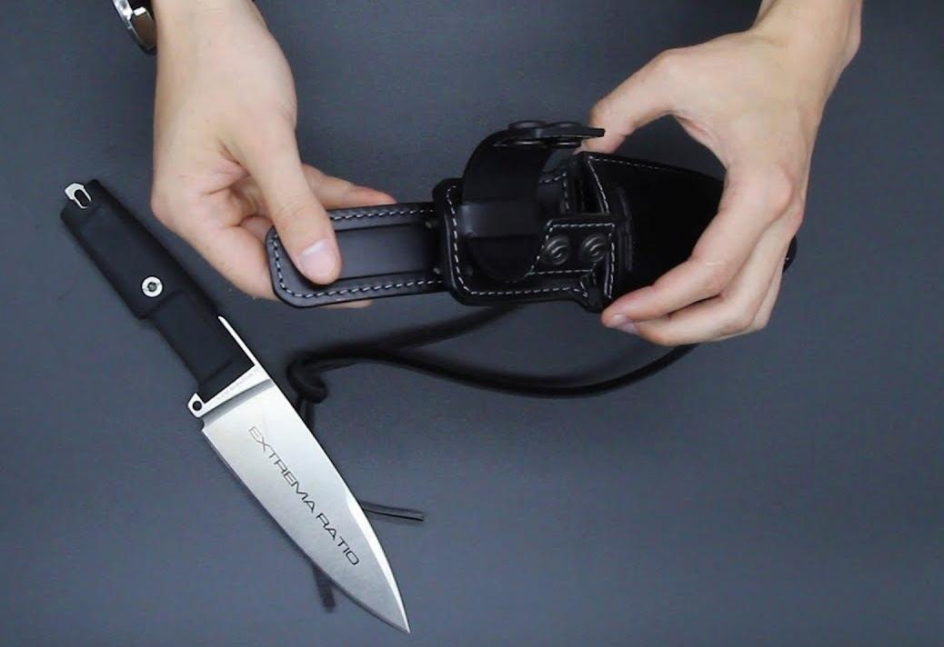 Фото 8 - Полевой поварской нож Extrema Ratio Psycho 15 Satin, сталь Bhler N690, рукоять Forprene®