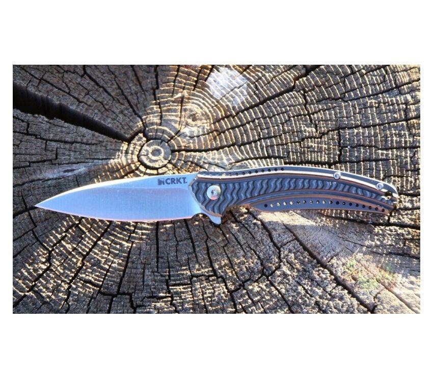 Фото 8 - Складной нож CRKT Ripple™ 2 Aluminum, сталь 8Cr14MoV, рукоять алюминий