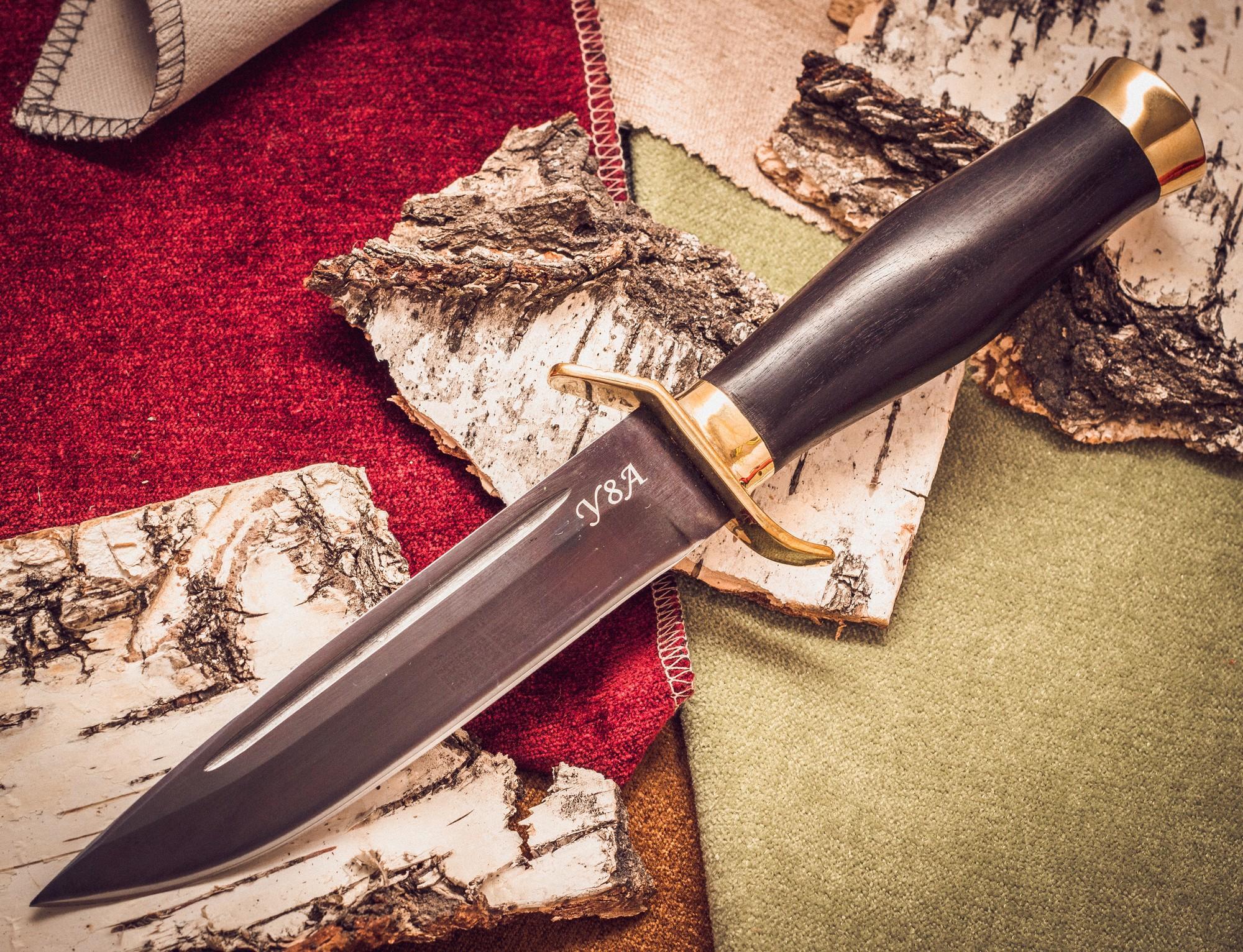 Траншейный нож Диверсант, У8 нож разведчика мт 108 сталь у8