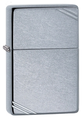 Зажигалка ZIPPO Replica™ с покрытием Street Chrome™, латунь/сталь, серебристая, матовая, 36x12x56 мм