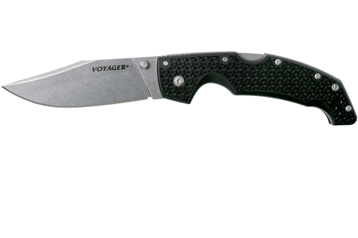 Фото 3 - Складной нож Cold Steel Voyager Large 29AC, сталь Aus 10A, рукоять пластик