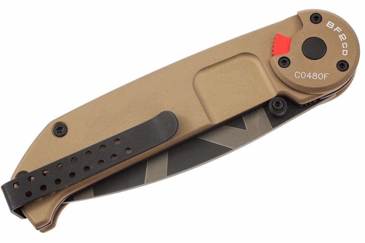 Фото 6 - Складной нож Extrema Ratio BF2 Classic Drop Point Desert Warfare, сталь Bhler N690, рукоять алюминий