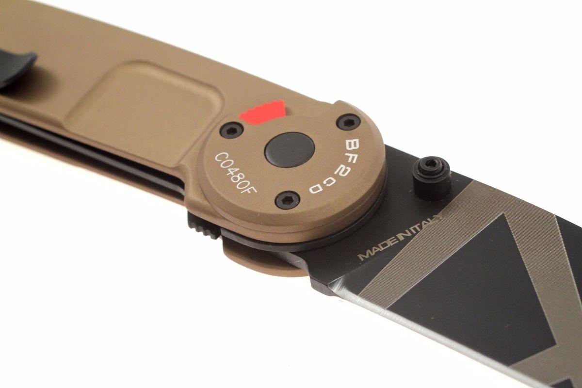 Фото 7 - Складной нож Extrema Ratio BF2 Classic Drop Point Desert Warfare, сталь Bhler N690, рукоять алюминий