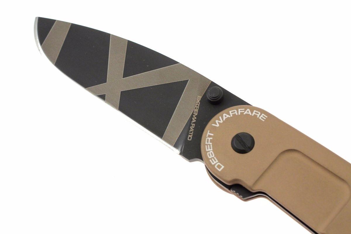 Фото 10 - Складной нож Extrema Ratio BF2 Classic Drop Point Desert Warfare, сталь Bhler N690, рукоять алюминий