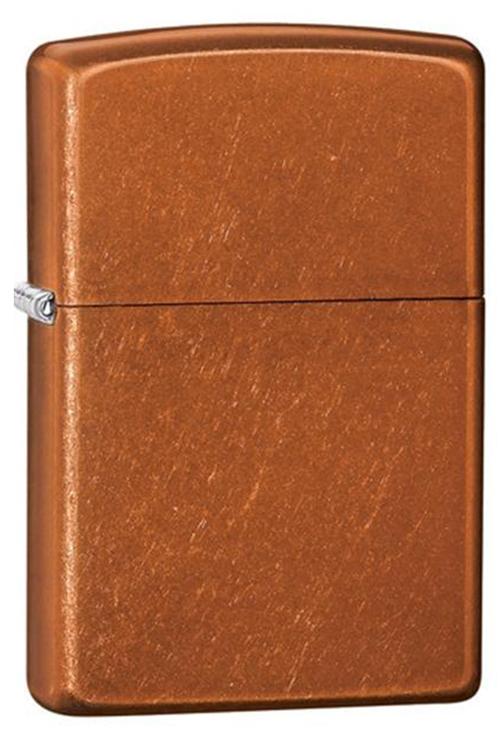 Зажигалка ZIPPO Classic с покрытием Toffee™, латунь/сталь, светло-коричневая, матовая, 36x12x56 мм