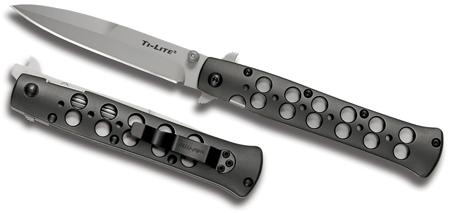 Складной нож COLD STEEL 26AST - Ti-Lite 4, сталь AUS 8A, рукоять алюминийСкладной нож COLD STEEL 26AST - Ti-Lite 4, сталь AUS 8A, рукоять алюминий
