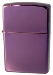 Зажигалка ZIPPO Abyss Classic, латунь с покрытием, фиолетовый, глянцевая, 36х12x56 мм, фото 1