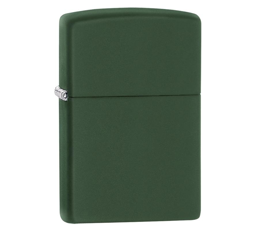 Зажигалка ZIPPO Classic с покрытием Green Matte