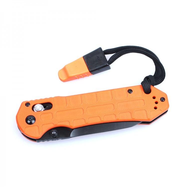 Фото 7 - Нож складной Ganzo G7453P-WS, оранжевый
