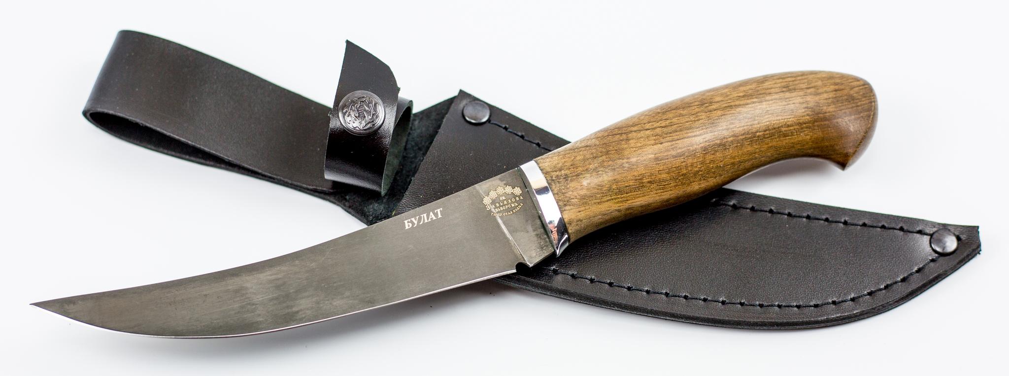 Фото 11 - Нож филейный Нерпа , сталь булат от Кузница Завьялова