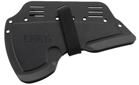 Топор CRKT 2737 Rune™ Designed by Ryan Johnson of RMJ Tactical, сталь SK-5 Carbon Black Powder Coating, рукоять термопластик GRN. Вид 4
