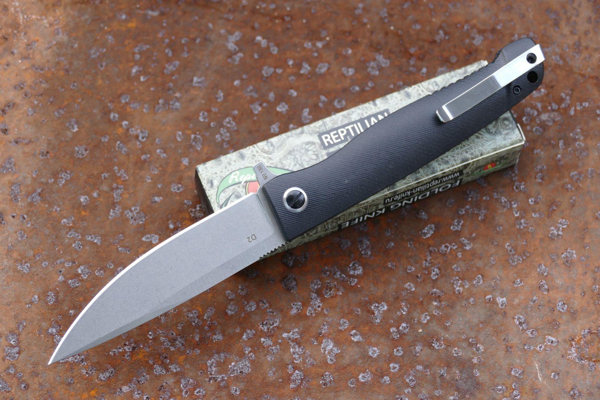 Фото 7 - Складной нож Карат 3 от Reptilian