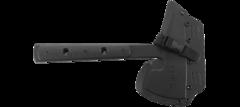 Топор CRKT 2737 Rune™ Designed by Ryan Johnson of RMJ Tactical, сталь SK-5 Carbon Black Powder Coating, рукоять термопластик GRN, фото 7