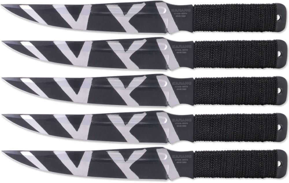 Набор из 5 метательных ножей для M-115-2