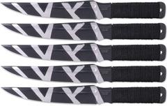 Набор из 5 ножей для спортивного метания M-115-2