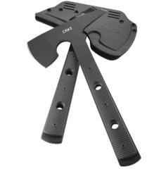 Топор CRKT 2737 Rune™ Designed by Ryan Johnson of RMJ Tactical, сталь SK-5 Carbon Black Powder Coating, рукоять термопластик GRN, фото 11