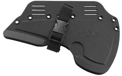 Топор CRKT 2737 Rune™ Designed by Ryan Johnson of RMJ Tactical, сталь SK-5 Carbon Black Powder Coating, рукоять термопластик GRN. Вид 12