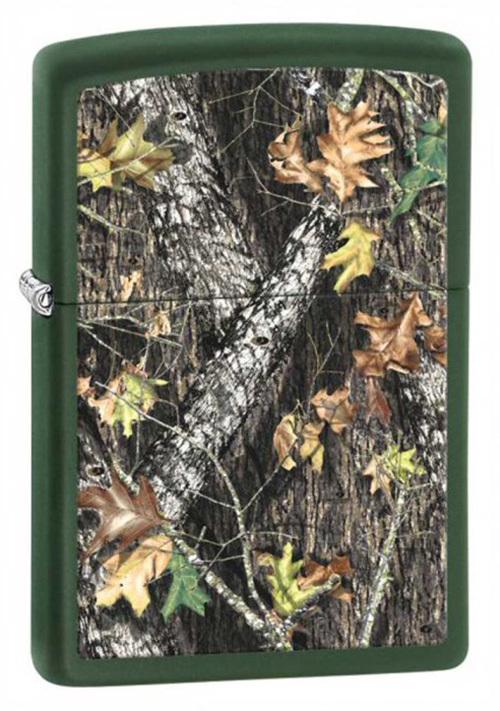 Фото 3 - Зажигалка ZIPPO Mossy Oak, латунь с покрытием Green Matte, зеленый, матовая, 36х12x56 мм