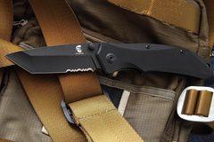 Складной нож OTAVA с серрейтором, Mr Blade